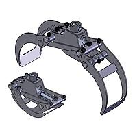 Drapáky pre hydraulické ruky