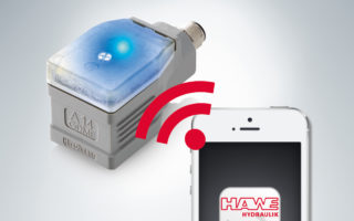 Elektronický zosilňovač ovládaný aplikácou HAWE eControl