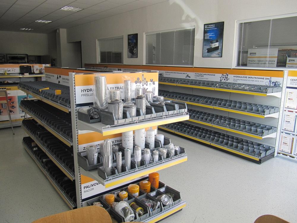 ParkerStore je globálna sieť priemyselných maloobchodných špecializovaných predajní