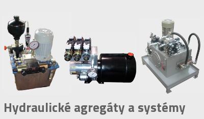 Hydraulické agregáty a systémy