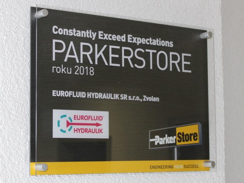 ParkerStore Zvolen ocenenie